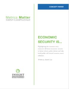 CONCEPT PAPER: Economic Security Is…